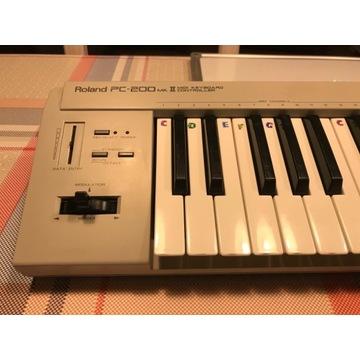 kontroler MIDI Roland PC200 4 oktawy, dynamiczna