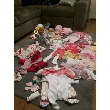 Lalka BabyBorn z ogromnym zestawem ubrań