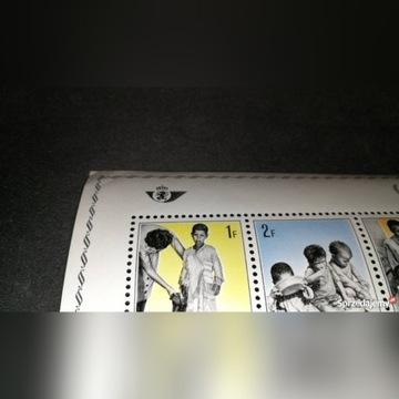 Znaczek Belgia 1967 Aid to refugees
