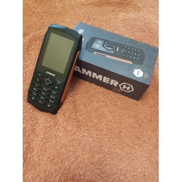 HAMMER 3 IP68 Dual SIM Pomarańczowy w BDB stanie!!