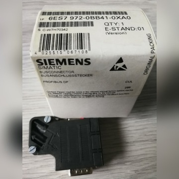 Siemens Wtyczka Profibus_DP 6ES7 972-0BB41-0XA0