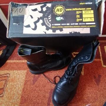 Sprzedam buty Glany Oryginal,  rozmiar 45 , czarne