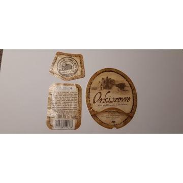 Etykieta Kormoran Orkiszowe  2013 rok