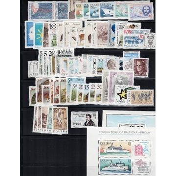 Zestaw znaczków 1986 Polska