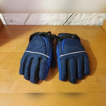Rękawiczki zimowe dla dzieci narty sanki