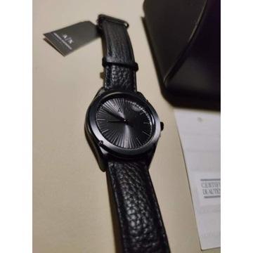 Armani Exchange zegarek męski pasek czarny Fitz ax