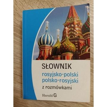 Słownik rosyjsko-polski, polsko-rosyjski z rozmówk
