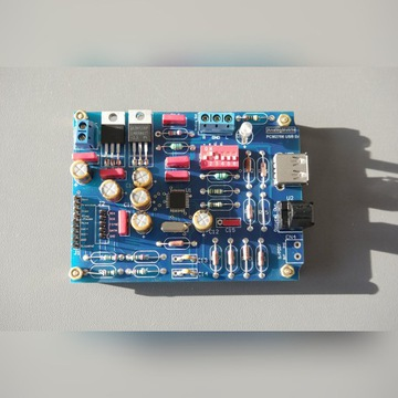 DAC USB PCM2706 HiEnd DIY