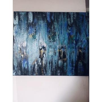 Obraz akryl 50x60 cm abstrakcja
