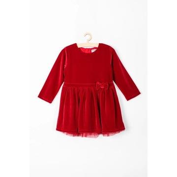 Sukienka niemowlęca świąteczna r.80/86