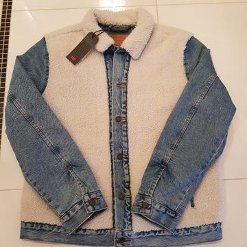 Levis Sherpa kurtka jeansowa L