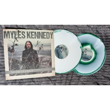 Myles Kennedy The Ides Of March autograf Rzadkie!