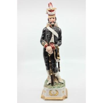 Porcelanowa figurka Żołnierz Napoleona