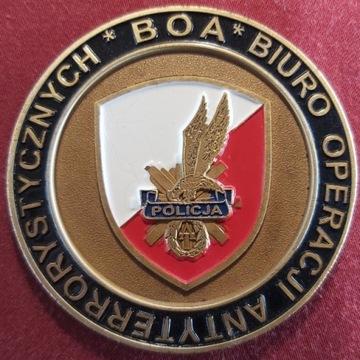 Coin Medal BOA Biuro Operacji Antyterrorystycznych
