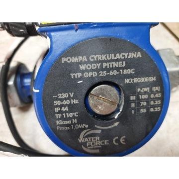 Pompa obiegowa co 100W