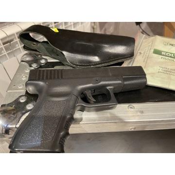 Pistolet gazowy +kabura Kolter RMG~19