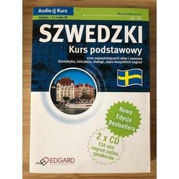 Szwedzki kurs podstawowy książka z CD