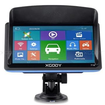 XGODY GPS718 NAWIGACJA GPS 128M +  8GB