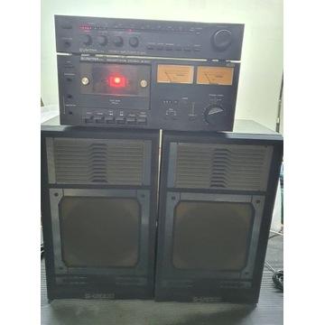 WIEŻA UNITRA AMPLITUNER R 8010 MAGNETOFON M8011
