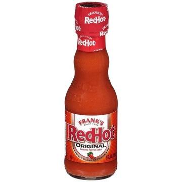 Franks RED HOT ORIGINAL SAUCE, USA 148ml