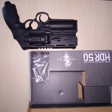 Pistolet UMAREX HDR50 + wyrzutnia gazu prawie nowy