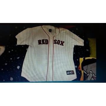 Red sox baseball amerykanski futbol koszulka Nfl