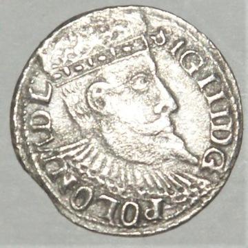 3 Grosze ZYGMUNT III WAZA  1599
