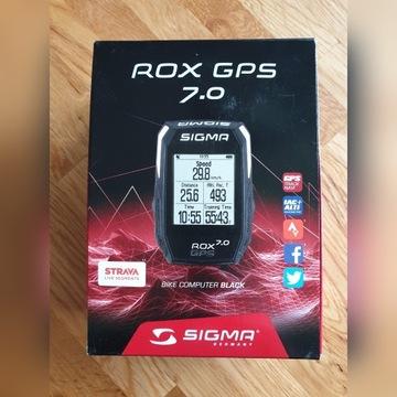 LICZNIK KOMPUTER ROWEROWY SIGMA ROX GPS 7