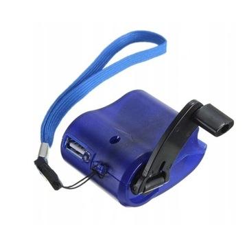 Ręczna ładowarka ręczna USB Ładowarka SURVIVAL