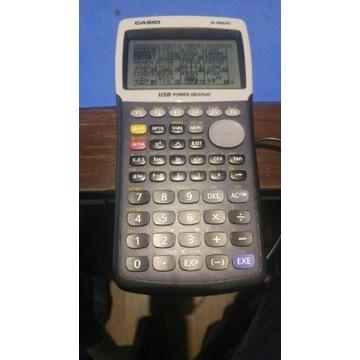 Kalkulator casio FX-9860G czytaj opis 9860