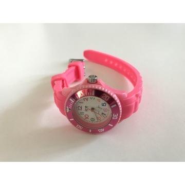 Różowy Ice-Watch Ice Watch zegarek dla dziewczynki
