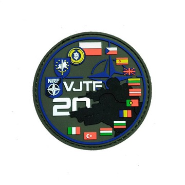 Naszywka 21 Brygady Strzelców Podhalańskich z VJTF