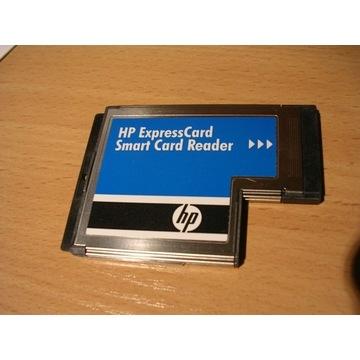 hp scr3340 smart card czytnik expresscard 54
