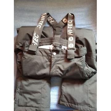 Spodnie narciarskie, r. 152, szare