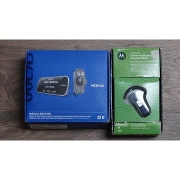 Nokia Car Kit CK-200 + Motorola H505