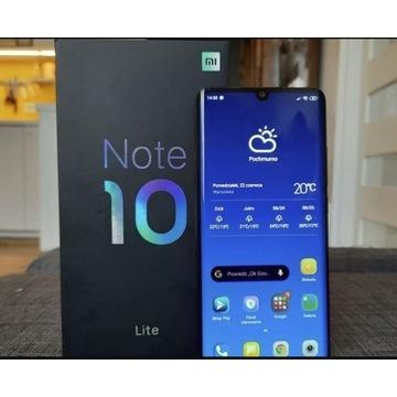 Sprzedam Xiaomi Note 10 Lite 64 GB/ 6 GB RAM/ ekra