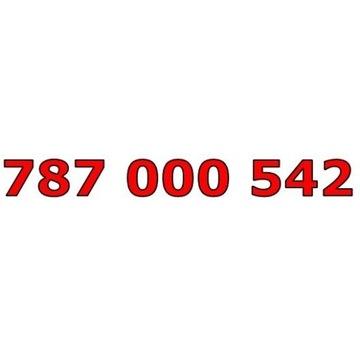 787 000 542 T-MOBILE ŁATWY ZŁOTY NUMER STARTER