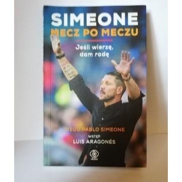 """Książka """" SIMEONE MECZ PO MECZU"""""""