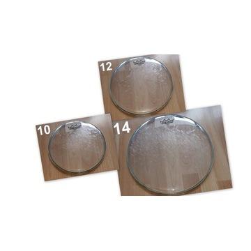 Naciągi Remo Emperor 10, 12, 14 zestaw naciągów