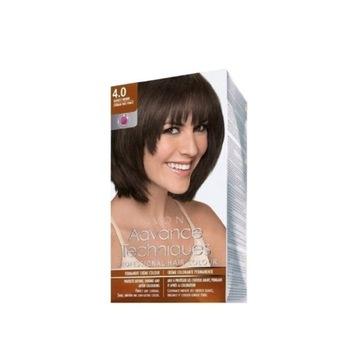 Avon farba do włosów Ciemny Brąz 4.0