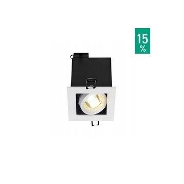 Oprawa Kadux 1 GU10 kwadrat biała 115511