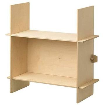 IKEA Półka regał Overallt sklejka 76x76cm