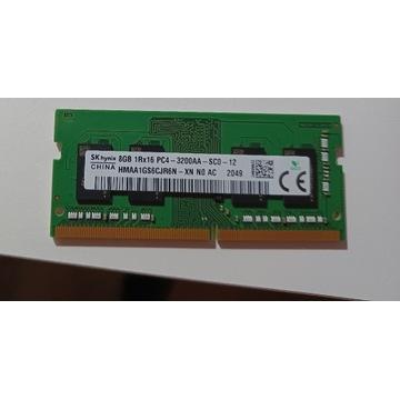 SK Hynix DDR4 3200MHz cl22 8GB SODIMM