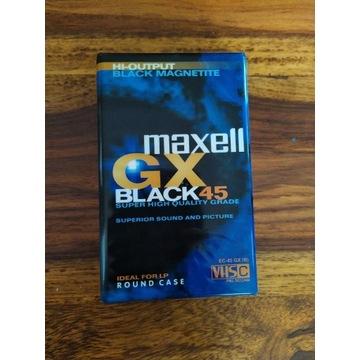Nowa kaseta taśma VHS-C Maxell GX 45 minut - vhsc