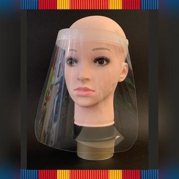 Przyłbica - ochrona twarzy - osłona 100 szt.