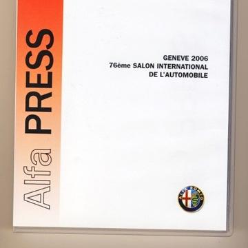 Alfa Romeo Press z Genewy 2006r