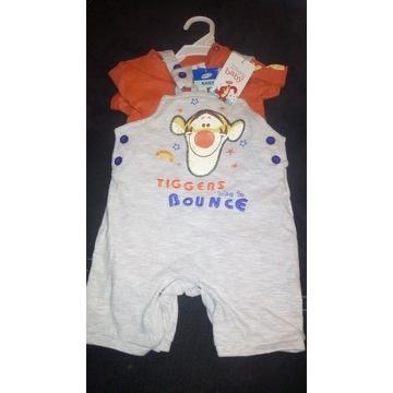 nowePepco Baby koszulka + spodenki Tygrysek Kubuś
