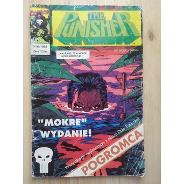 The Punisher 6/1992 TM Semic