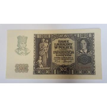20 złotych 1940 r.