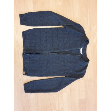 Rozpinany SWETER 140 cm